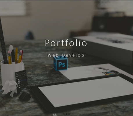 Portfolio frontend site with source code