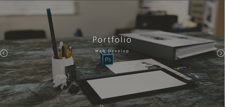 Portfolio frontend site with source code