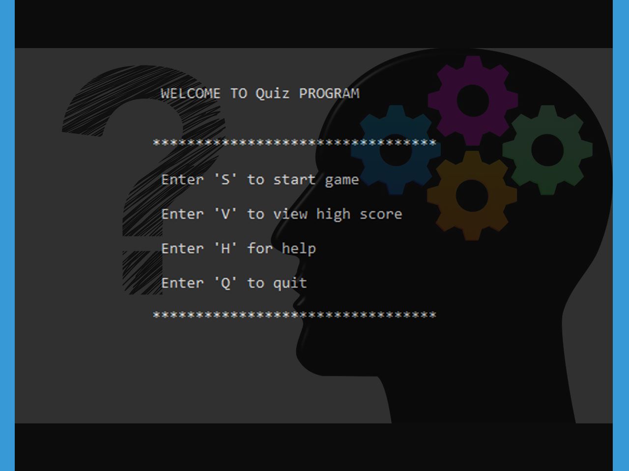 Quizzes in C with Source code