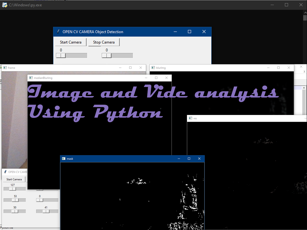 Image and Video analysis in Python with Source code