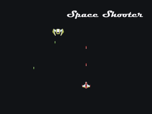 Space shooter game in Unity 3D with Source code