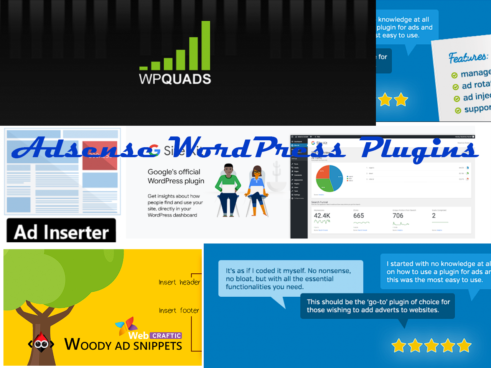 Top 5 Free Adsense WordPress plugins.