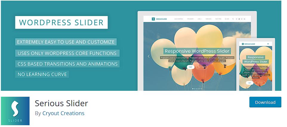 Best WordPress plugins - Serious