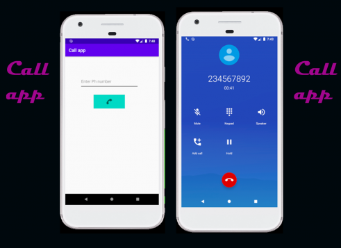 Call app-How to make a phone call in android with Source code