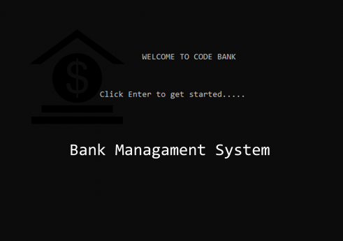 Bank management system in C with source code