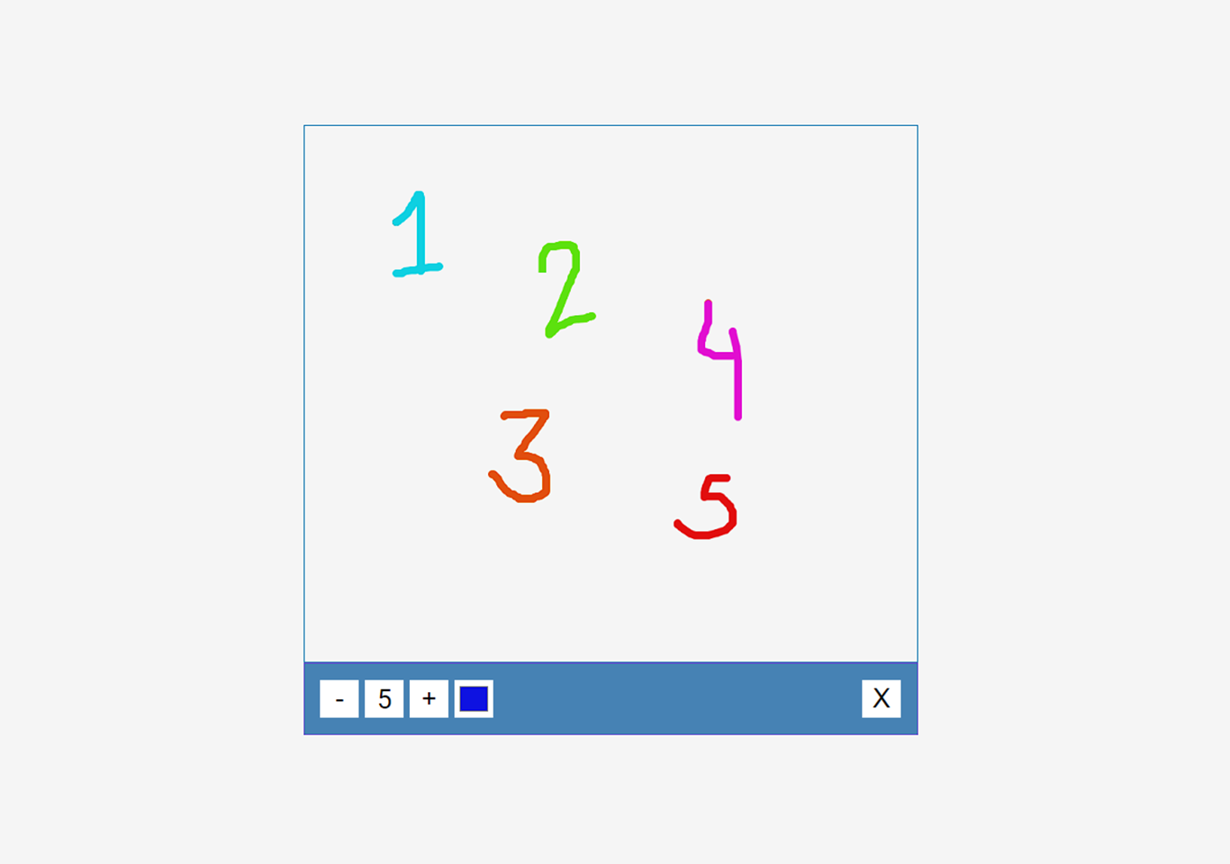 Drawing app in JavaScript with Source code