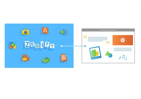 Zedity WordPress plugin