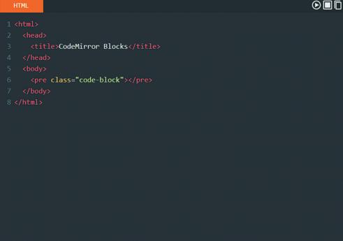 CodeMirror Blocks WordPress plugin
