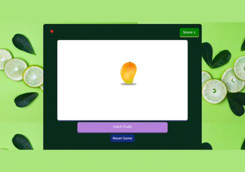 Fruit ninja game in JavaScript with source code