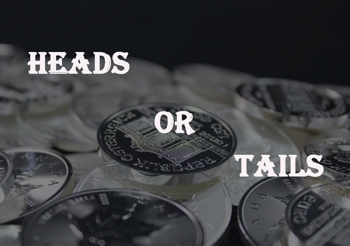 Heads or tails in python with Source code
